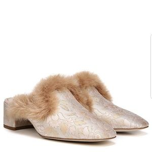 Sam Edelman Adair 2 faux fur trimmed mules 7